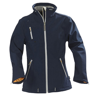 Marinblå, XS, Ladies Softshell Jacket Savannah, from Harvest, Harvest Savannah softshelljacka, ,  (1 av 1)