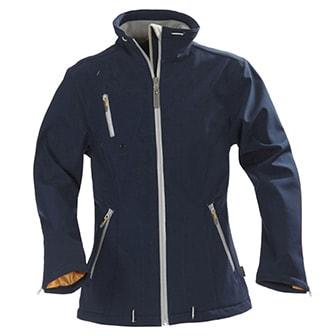 Marinblå, XS, Ladies Softshell Jacket Savannah, from Harvest, Harvest Savannah softshelljacka, ,