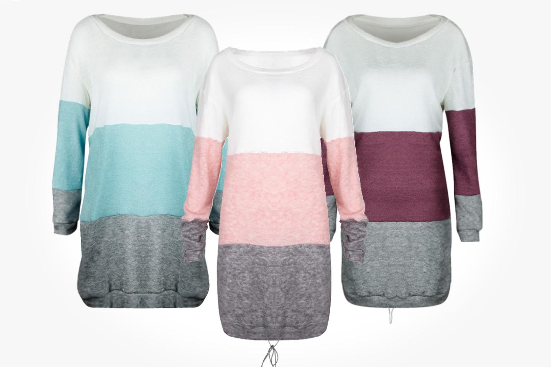 Stickad klänning (1 av 9)