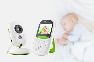 Trådlös HD babyvakt med ljud och bild