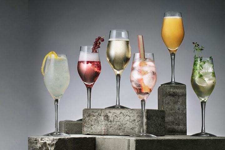 Orrefors Sense Sparkling glas 6-pack