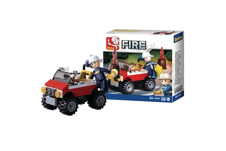 Sluban, Byggsats - Fire Jeep