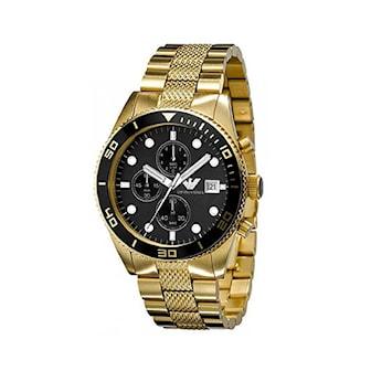 AR5857, AR5857, Armband: Guld, rostfritt stål. Urtavla: 46 mm,