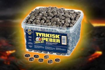 Tyrkisk Peber Extra Hot, 2,2 kg