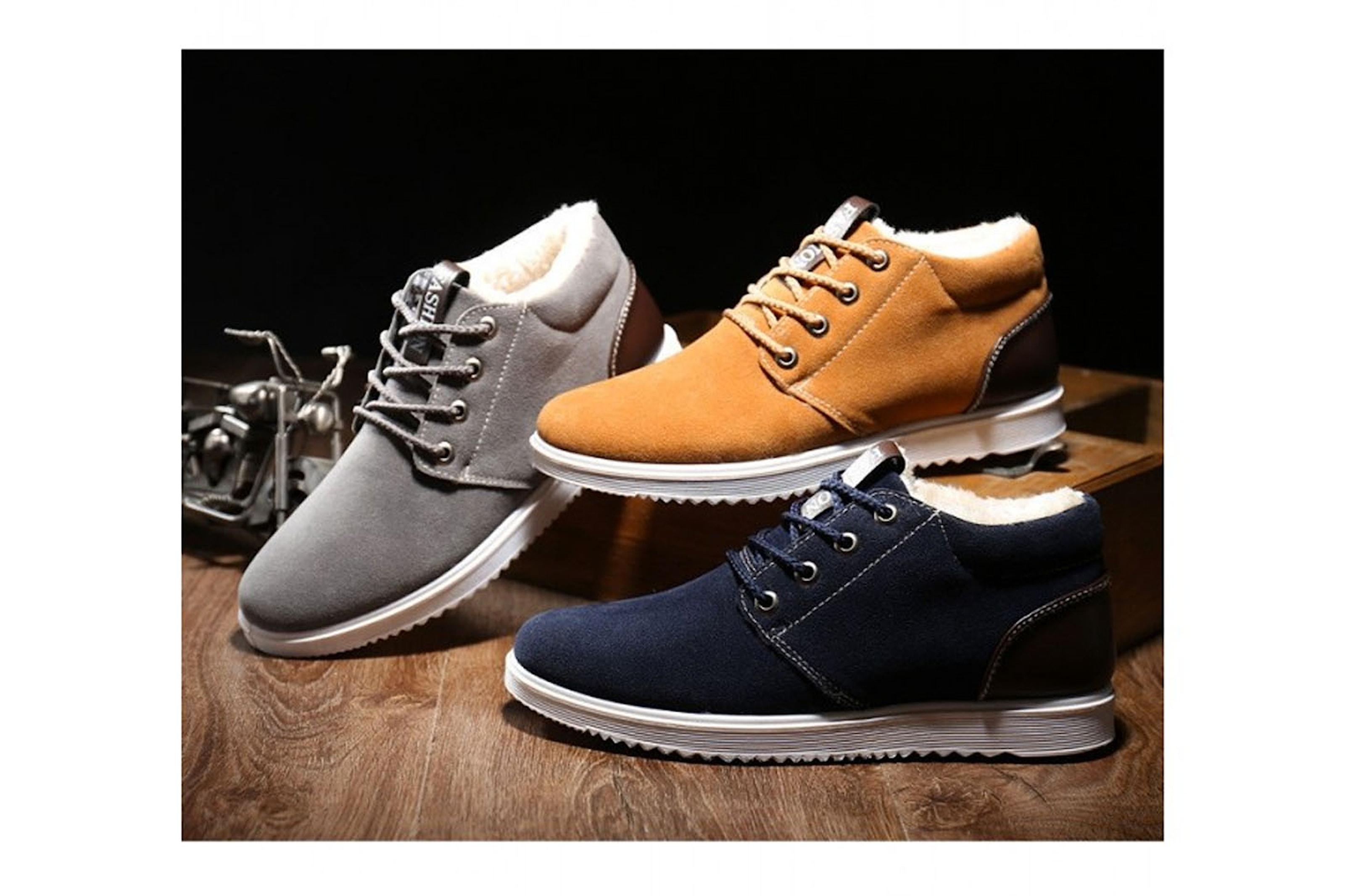Varme sko i flere farger