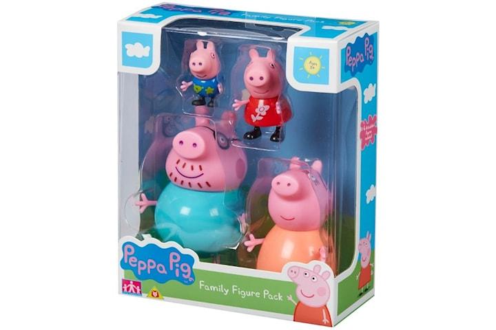 Greta Gris / Peppa Pig, Familj Figurpaket