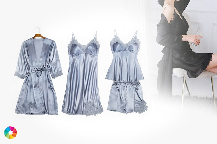 Pyjamasset i lyxig design