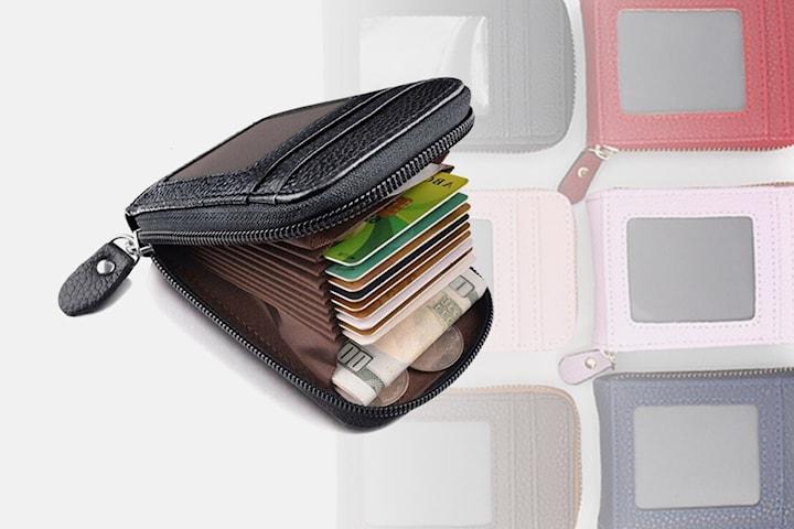 Praktisk plånbok