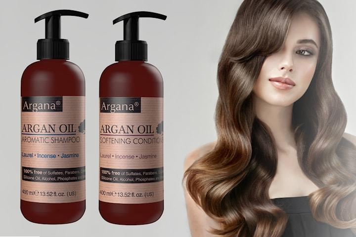 Argan Oil Aromatic schampo och balsam
