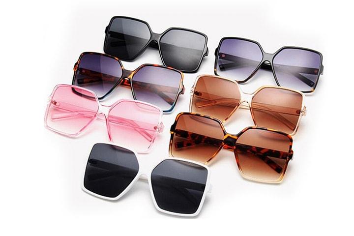 Solbriller i retrostil dame