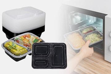 5-pack store pakker med matbokser