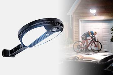Soldriven belysning med 70 LED-lampor och PIR-sensor