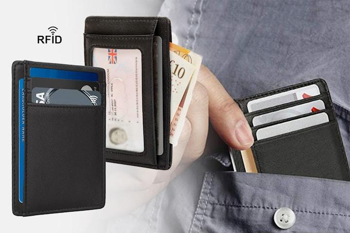 RFID-beskyttet mini-lommebok