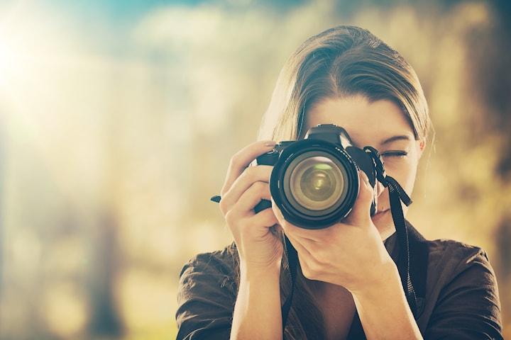 Fotografering med profesjonell fotograf Victoria Francisca