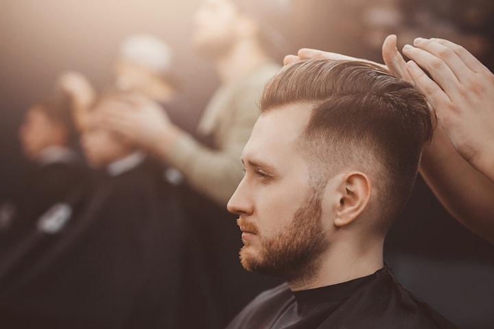 Klippning inkl. rakning eller trimning av skägg