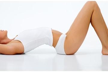 Èn til seks behandlinger med Lipolaser med lymfedrenasje hos Kroppsforming