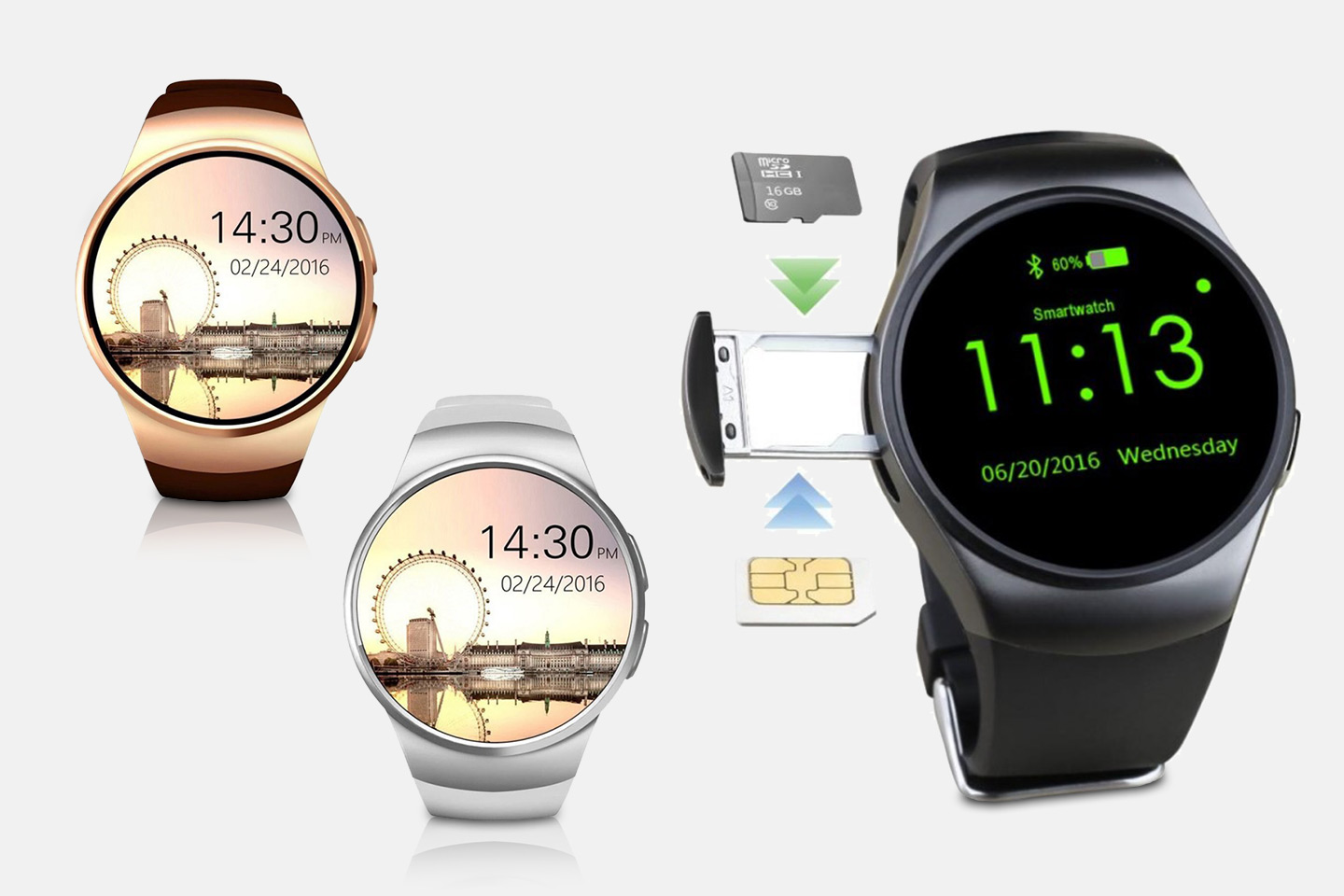 Smartwatch med Bluetooth (1 av 6)