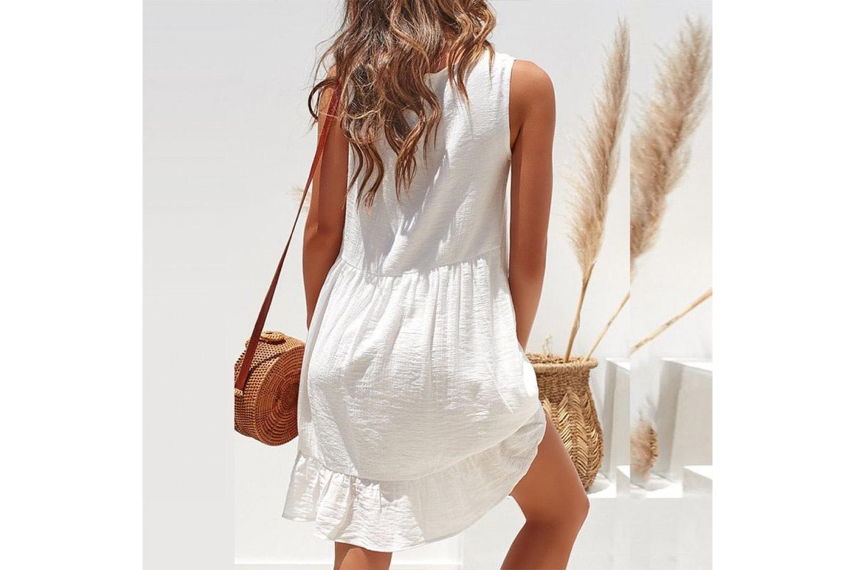 Klänning utan ärmar