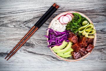 Pokébowl från Bao Kitchen