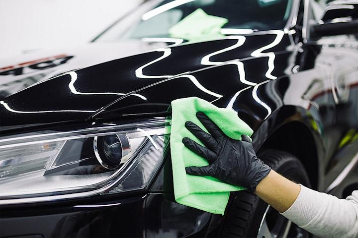 Få skinnende ren bil hos Tama Bilpleie i Drammen