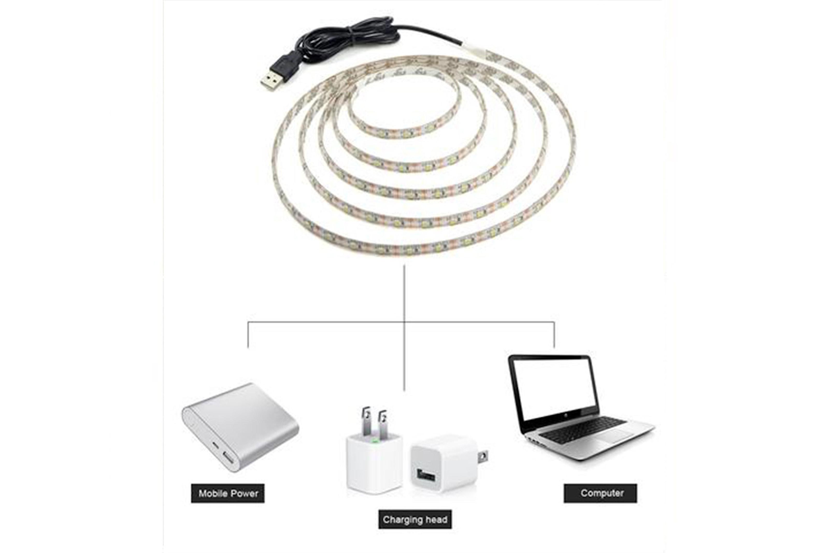 Smart LED-lysstripe
