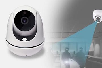 Övervakningskamera med PTZ-funktion
