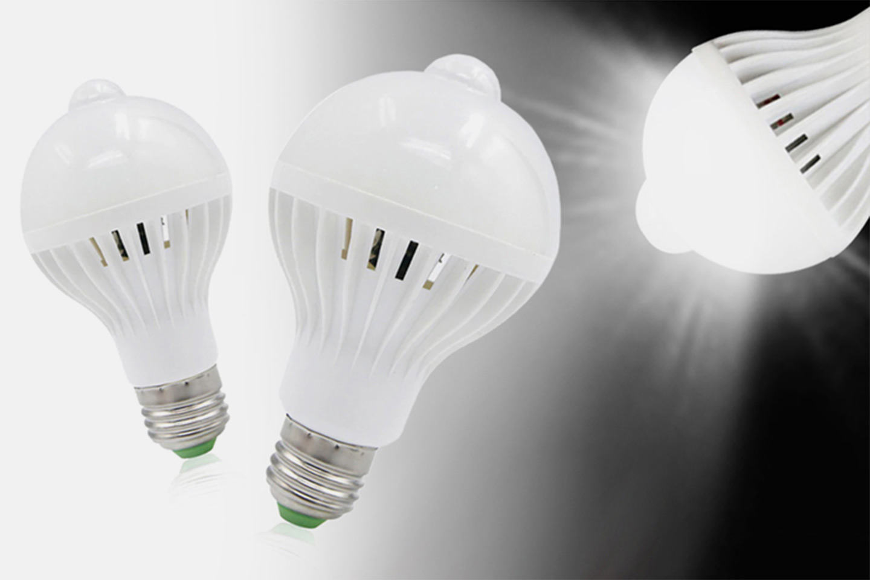 LED-lampa med rörelsessensor (1 av 7)