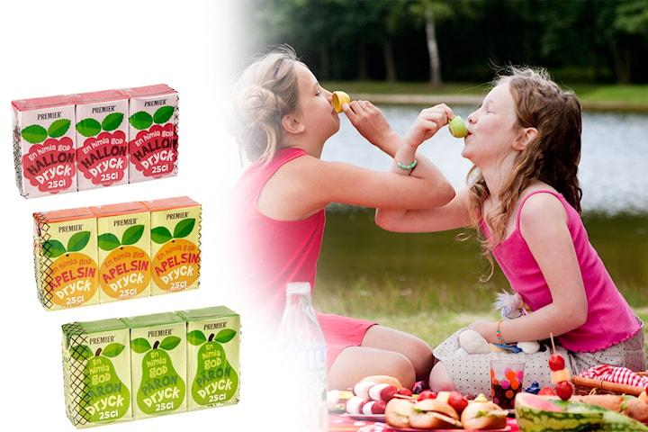 Premier fruktdryck, 27-pack