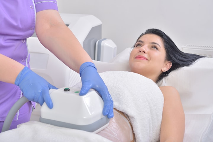 Cryolipolysis fettfrysning hos AM Esthetic Clinic