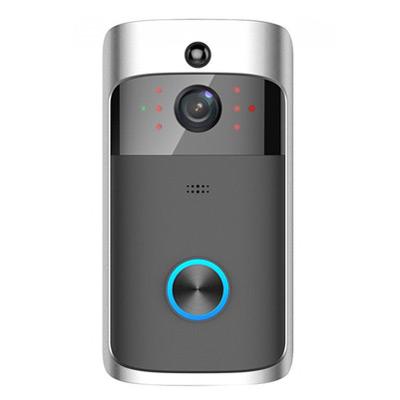 Svart, WiFi Security DoorBell, WiFi-dørklokke, ,  (1 av 1)