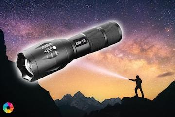 High Performance Tactical Flashlight