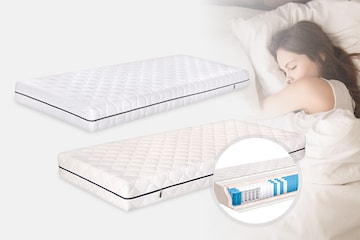 Sleep2Care madrass Duoflex eller Plus Spring