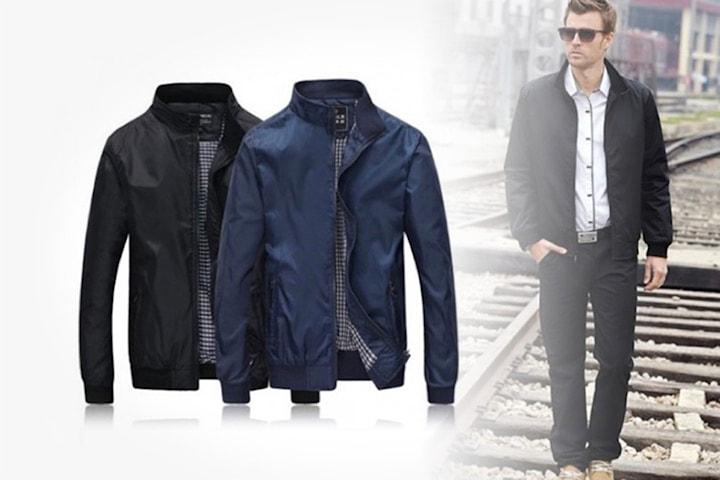 Harrington-jakke til herre