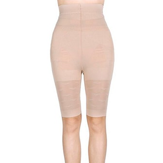Beige, 3XL, Women Slim Lift Tummy Control Body Shape Pants, Hold in-shorts, ,