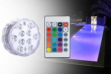 Vattentät LED-lampa