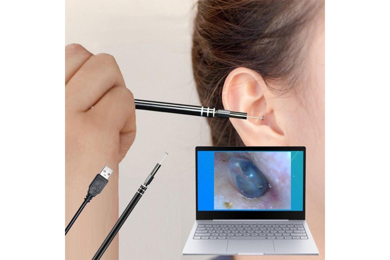 Öronvaxborttagare med mikrokamera