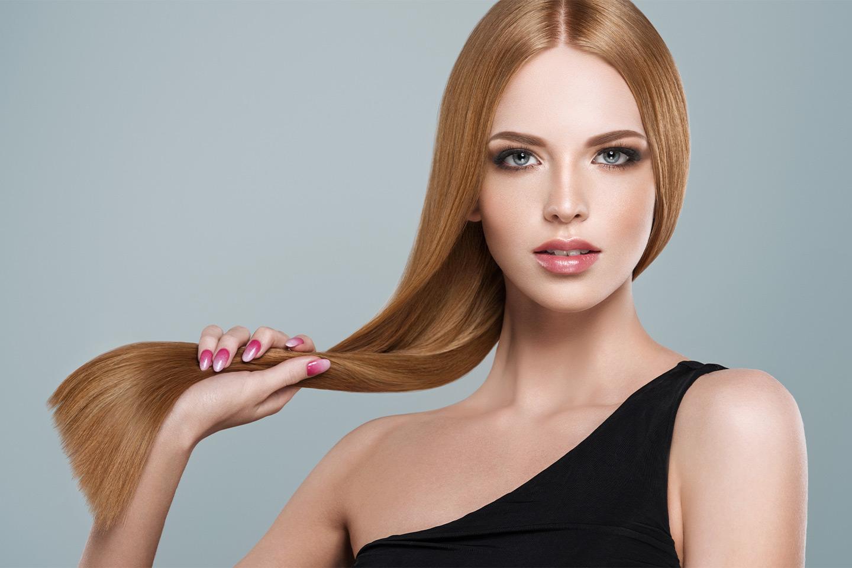 Lyxig keratinbehandling för håret (1 av 1)