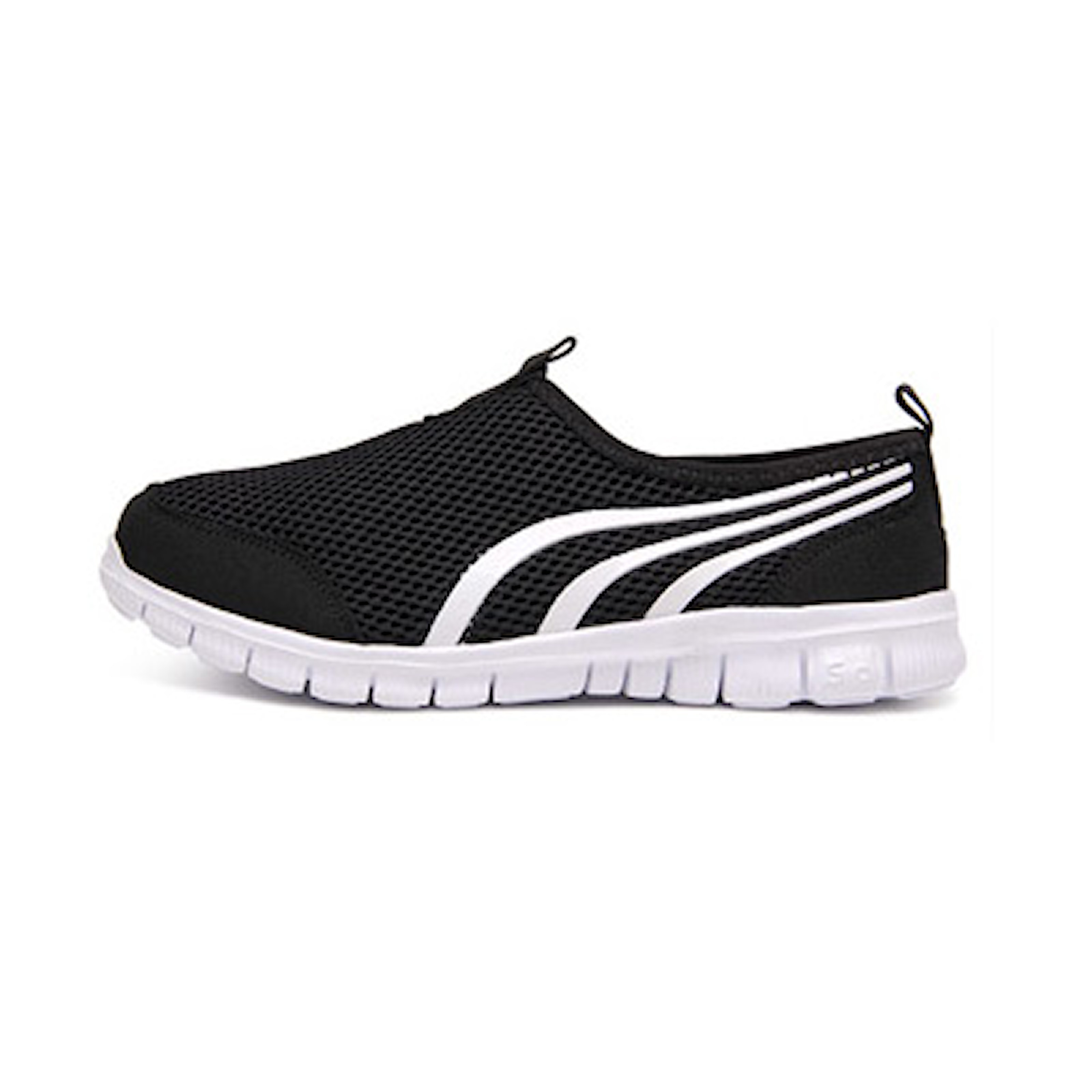 Svart, 37, Sporty Mesh Shoes, Sporty sko i mesh, ,