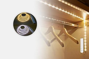 LED-stripe med bevegelsessensor