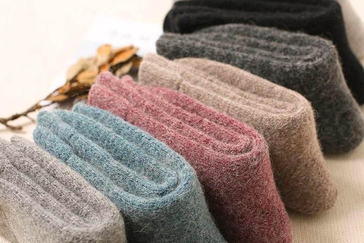 Sokker i ullblanding 5-pack
