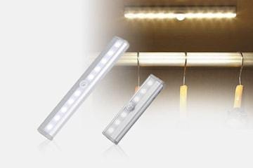 LED-panel med automatisk rörelsesensor
