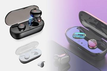 TWS øretelefoner med touch-kontroll