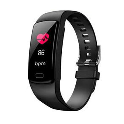 Svart, Y9 Smart Watch Heart Rate Monitor, Aktivitetsarmband Y9, ,  (1 av 1)