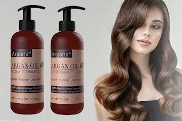 Argana Argan Oil Aromatic schampo och balsam