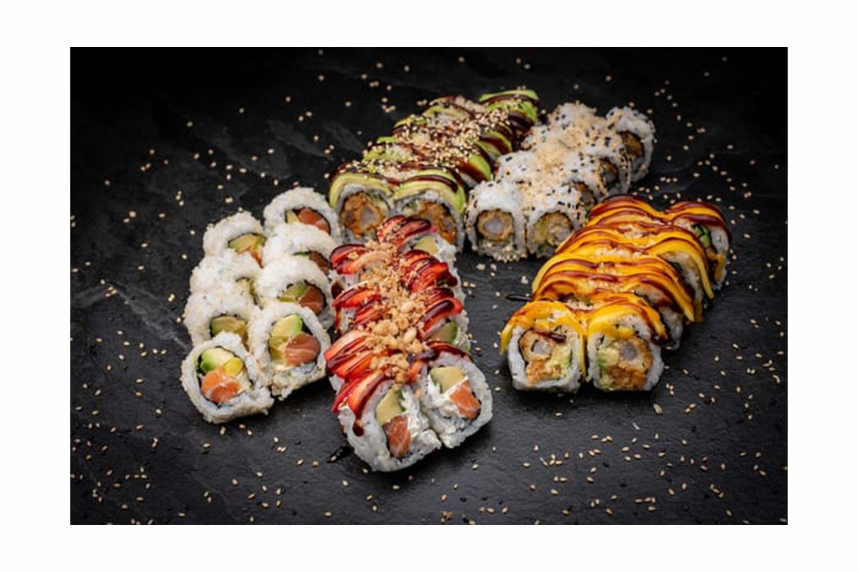 Åpningstilbud på deilige Sushipakker hos Sushimi