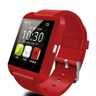 Röd, MTK U8 Smart Watch, Smartwatch MTK U8, ,