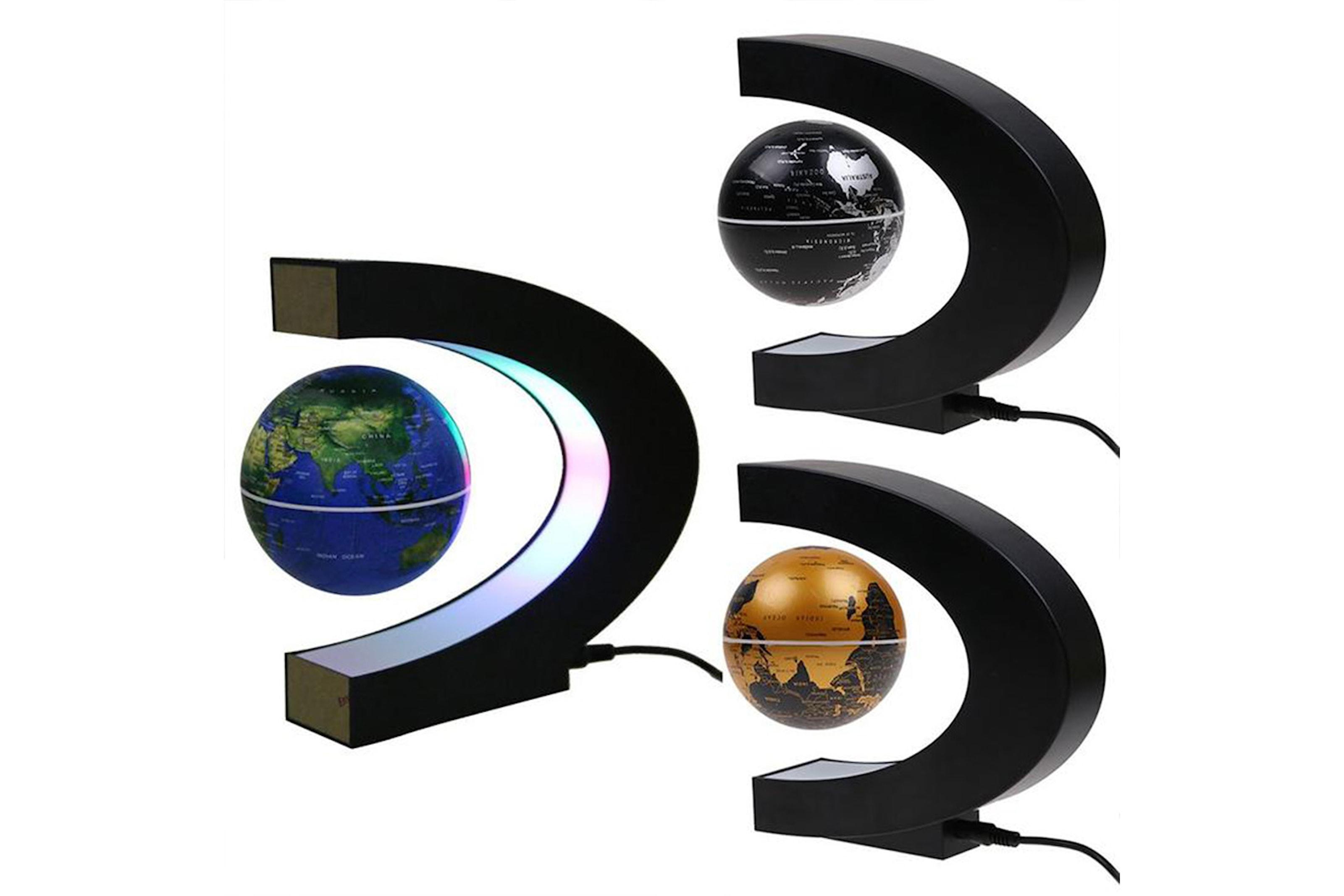 Magnetiskt jordklot med LED