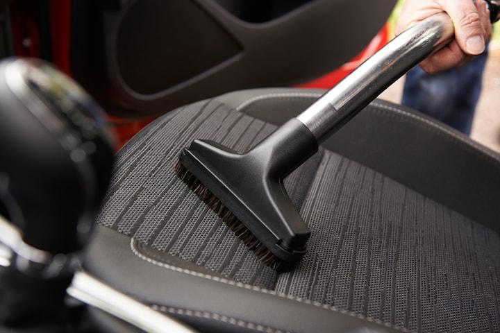 Klädseltvätt av 5 bilsäten hos Expert bilvård