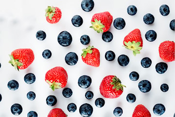 Very Berry-smoothie, hos Naked Juicebar på Frölunda Torg