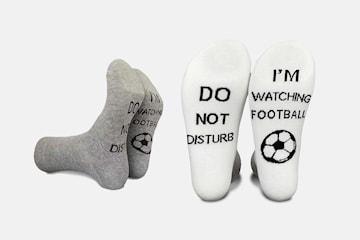 Strumpor för fotbolls-fantasten 2- eller 4-pack